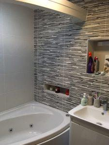 Dinesh Customer bathroom tiles