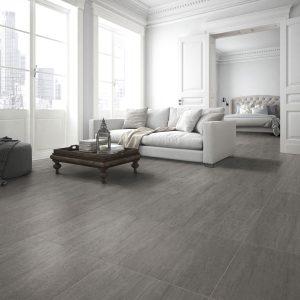 Sydney grey matt porcelain tile