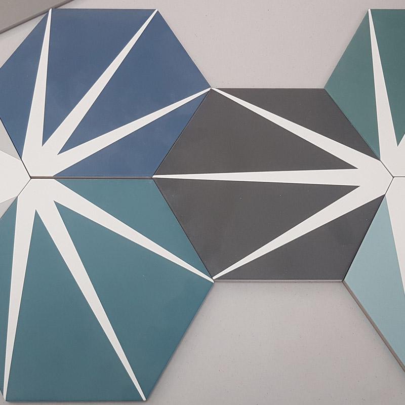 Lily Pad Tiles, Hexagonal
