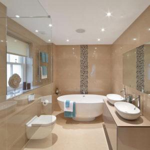 Spring, bathroom design