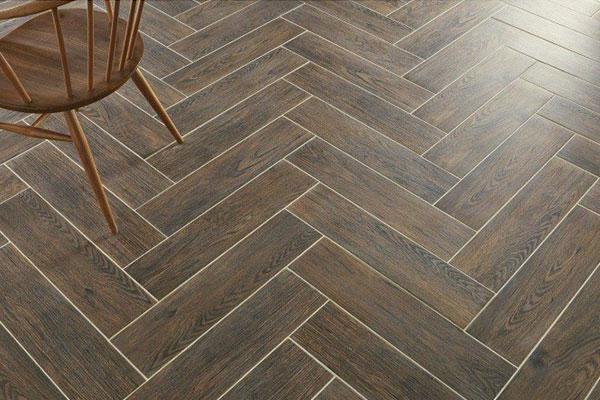 Nordic dark brown roomset, woode effect