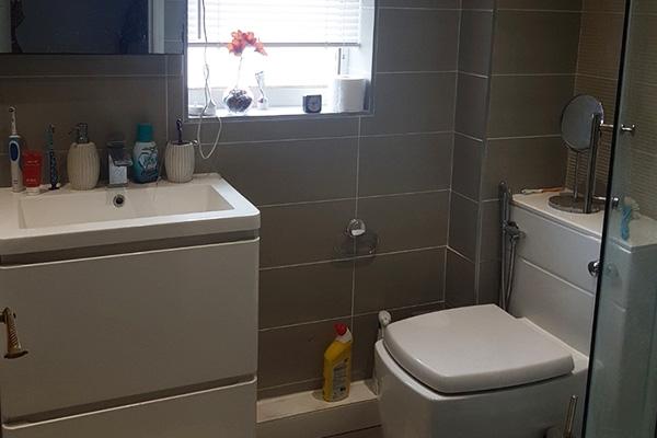 Small room look bigger. Bathroom, BEFORE
