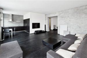 Monochrome interior design