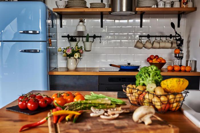 retro kitchen tiles metro style