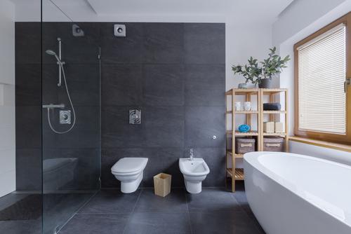 Designer Black Floor Tiles