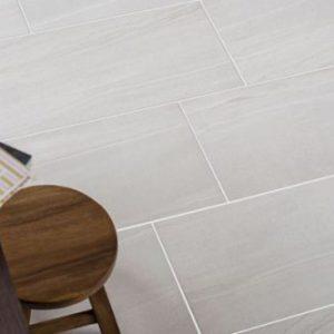 Paros White Tile on the floor